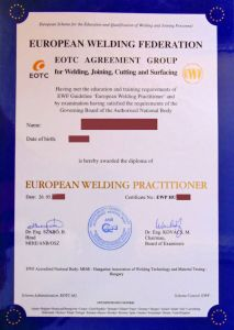 EUROPEAN WELDING FEDERATION