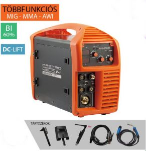 Mastroweld MIG-250 MI (DC-Lift) Multifunkciós inverter (Evolution)